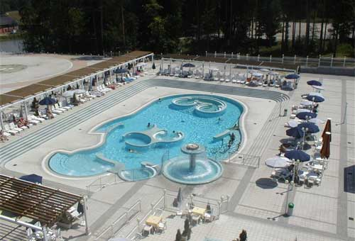 Hotel Habakuk piscina